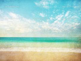 Summer Beach Template Backgrounds