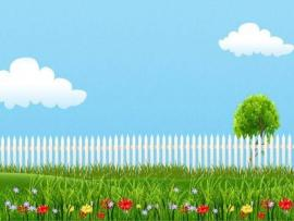 Summer Garden Art Backgrounds