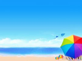 Summer Mac Beach Backgrounds
