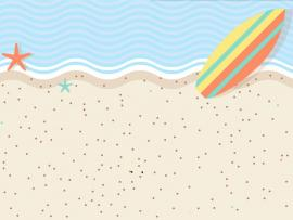 Sweet Beach Design Backgrounds