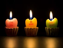 Sweet Candle Clipart Backgrounds