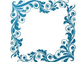 Sweet Floral Frame Backgrounds