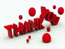 Thank You Clip Art Backgrounds