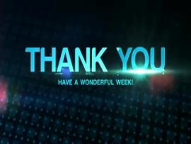 Thank You Have A Great Week Image Design Backgrounds