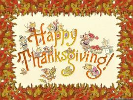 Thanksgiving Design Backgrounds