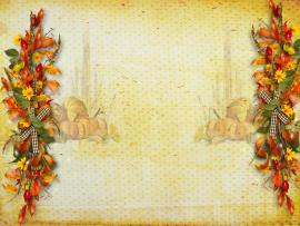 Thanksgiving Fruit For PowerPoint  Foods and Drinks PPT   Graphic Backgrounds