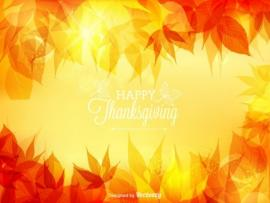 Thanksgiving Vector Backgrounds