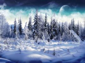 The Snows Art Backgrounds