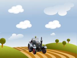 Tractor Farm Backgrounds
