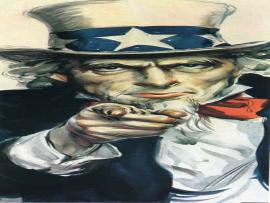 Uncle Sam Image Frame Backgrounds