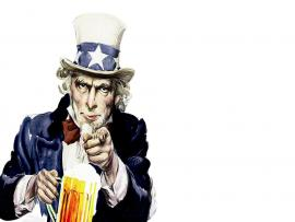 uncle sam backgrounds for powerpoint templates ppt backgrounds