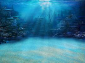 Underwater Tower Slides Backgrounds
