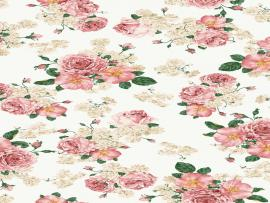 Vintage Floral Pure Slides Backgrounds