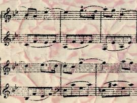 Vintage Sheet Music Backgrounds