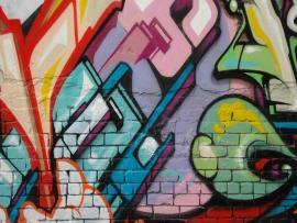 Virtual World Graffiti Backgrounds