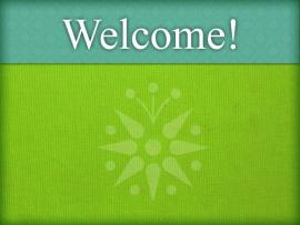 Welcome Photo Backgrounds