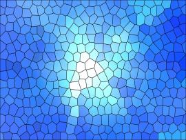 White and Blue Stained Glass Quality Backgrounds