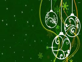 White and Green Christmass Backgrounds