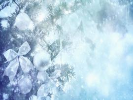 White Christmas Template Backgrounds