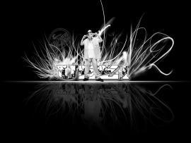 White Hip Hop Slides Backgrounds
