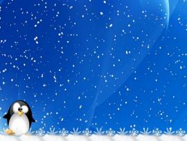 Winter Holiday Snowflake Design Backgrounds