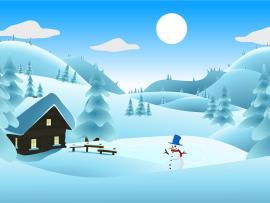 Winter Presentation Backgrounds