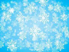 Winter Snowflake  Free Vector Art Stock Graphics   Wallpaper Backgrounds