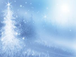 Winter With Tree  Christmas Holiday  PPT Download Backgrounds