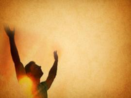 Worship Hands PowerPoint Frame Backgrounds
