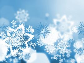 Xmas Snowflakes Backgrounds