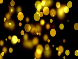 Yellow Bokeh Template Backgrounds