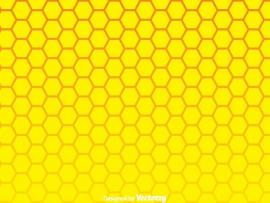 Yellow Honeycomb Wallpaper Backgrounds