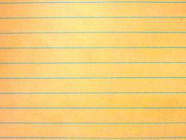 Yellow Paper Notebook Clip Art Backgrounds