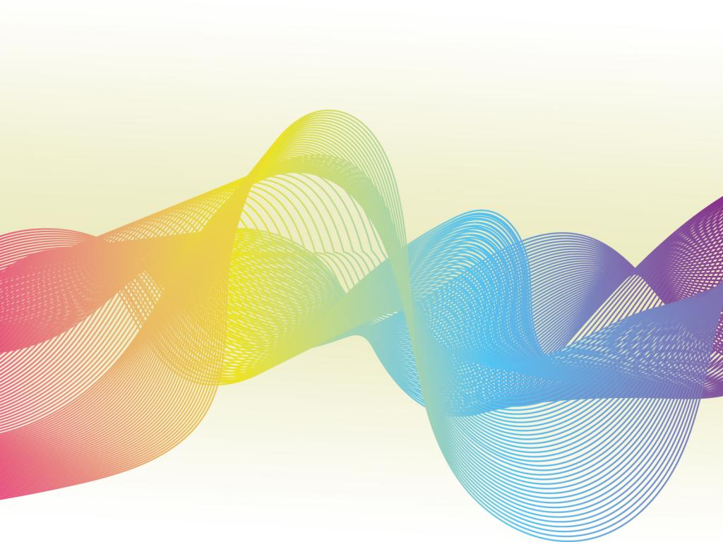 Abstract Wave PPT Backgrounds