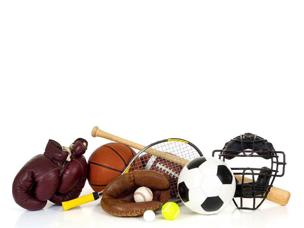 All Sports Clipart PPT Backgrounds