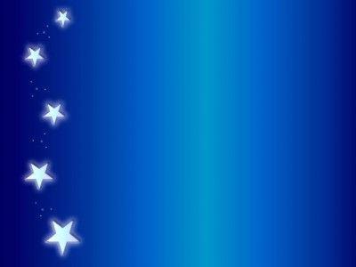 Angels Sidebar Angel Blue Stars   image PPT Backgrounds