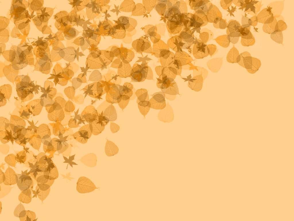 Autumn Clip Art PPT Backgrounds