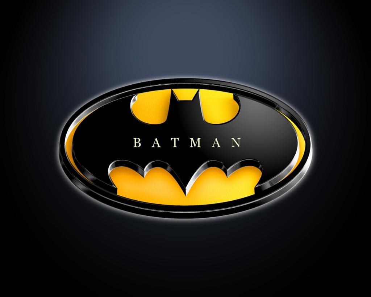 Batman Logo Graphic PPT Backgrounds