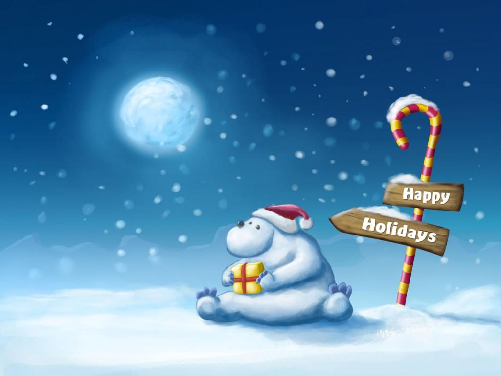 Christmas Holiday PPT Backgrounds
