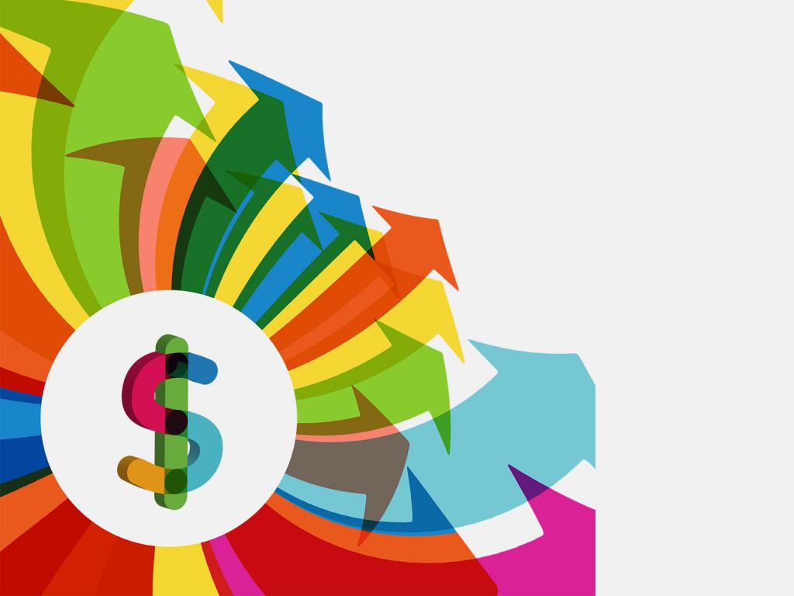 Dollar Economy PPT Backgrounds