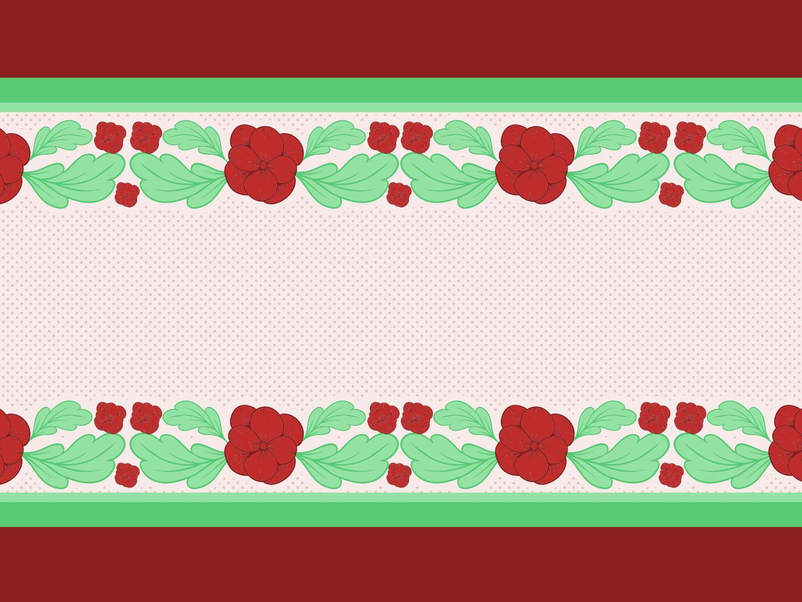 Flower Borders PPT Backgrounds