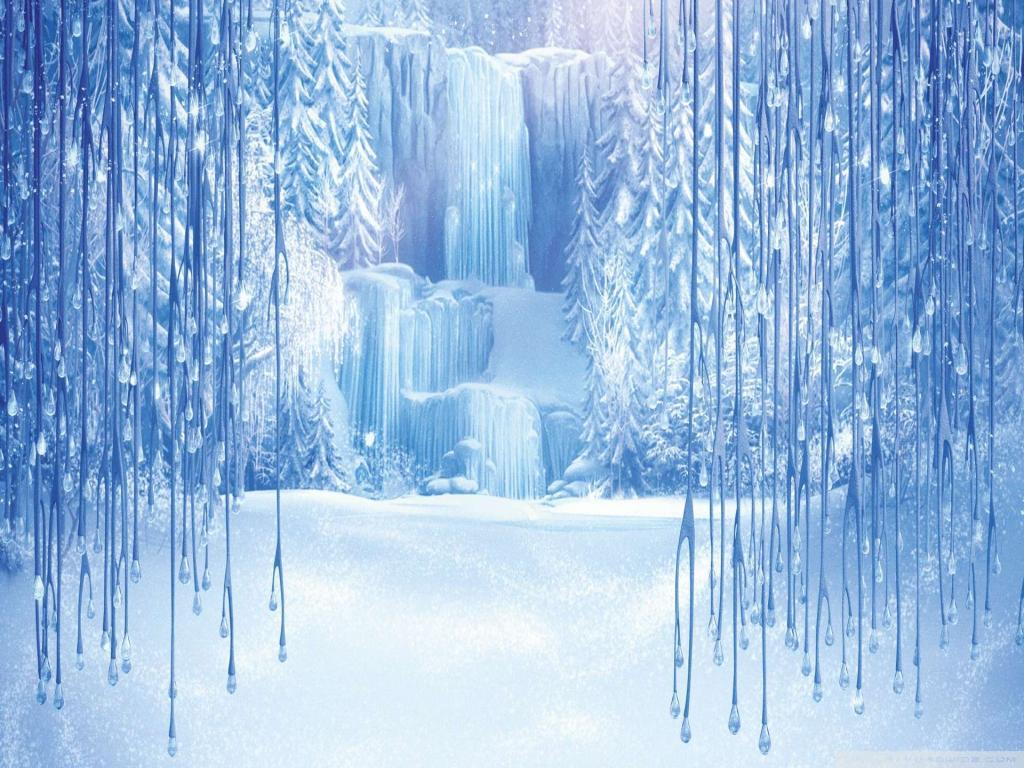 Frozen Template PPT Backgrounds