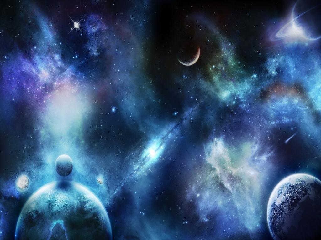 HD Space Collection PPT Backgrounds