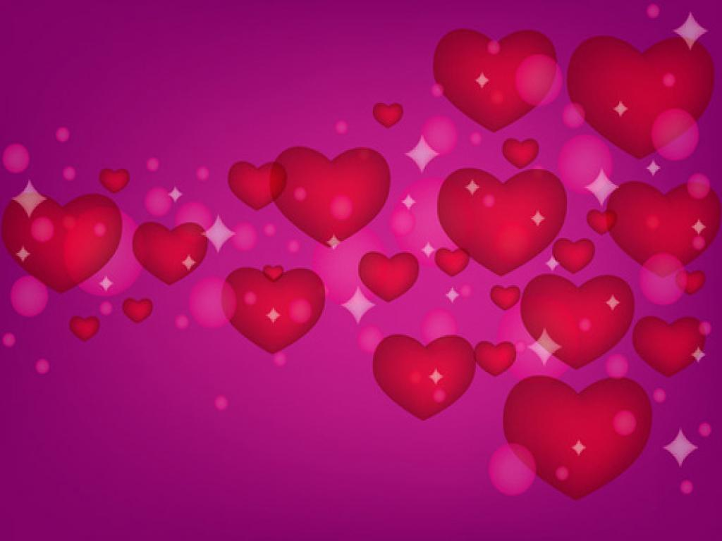 Heart Love Quotes PPT Backgrounds