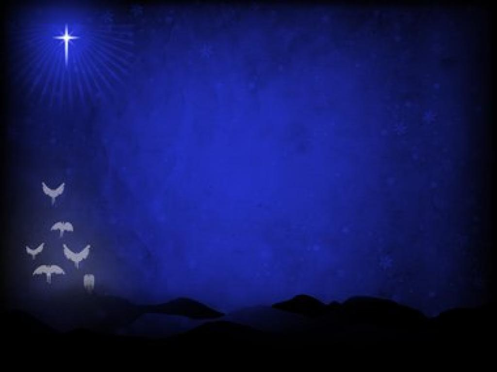 Herald Angels Sing PPT Backgrounds