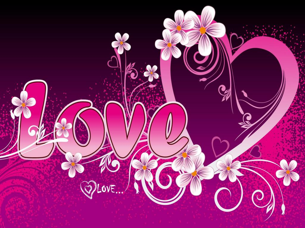 Love Heart PPT Backgrounds