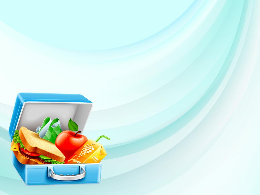 Lunch Box PPT Backgrounds