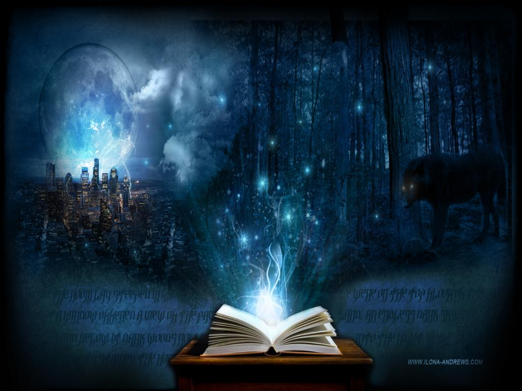 Magic Book image PPT Backgrounds