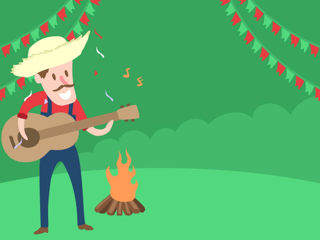 Mexican Musician PPT Backgrounds