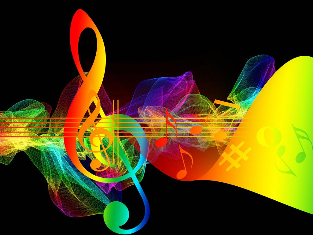 Music Sound PPT Backgrounds